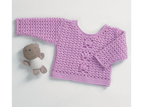 Sweater by Jenny Watson in Deramores Studio Baby DK  (5083)
