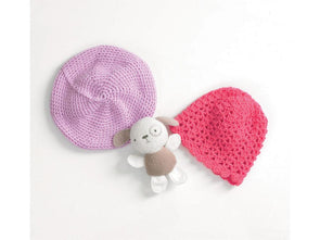Beret and Lacy Hat by Jenny Watson in Deramores Studio Baby DK (5087)
