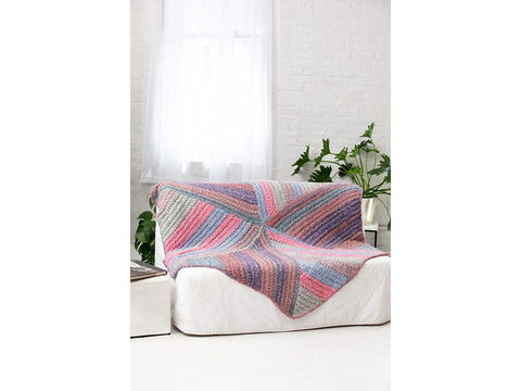 Colonia Afghan in Lion Brand Homespun New Look (L80150)