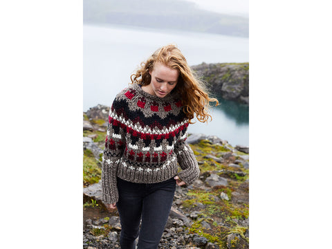Folke Pullover in Lion Brand Wool-Ease Thick & Quick (L80250)