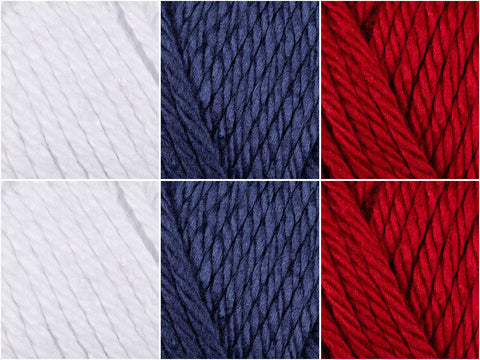 Stars & Stripes Colour Pack in Lion Brand Hometown USA