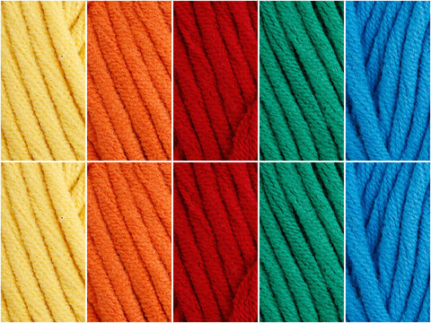 Macaw Colour Pack in Cygnet Yarns Whopper Cotton