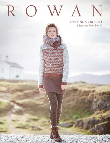 Knitting and Crochet Magazine 60 by Rowan