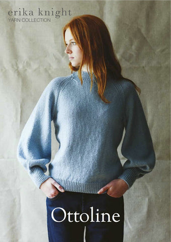 Ottoline in British Blue 100 by Erika Knight