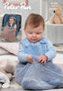 Snuggle Bag and Car Seat Blanket in Peter Pan Precious Chunky (1298)- Digital Version