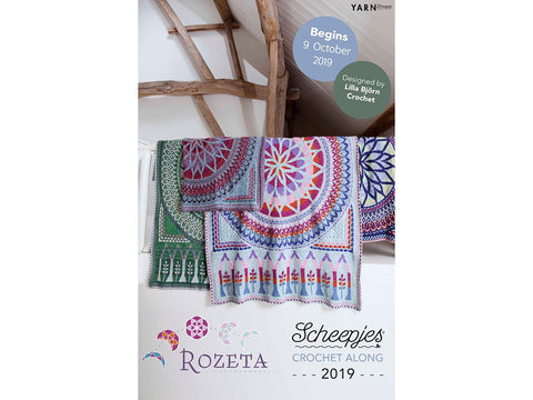 Scheepjes CAL 2019: Rozeta Official Kit in Colour Crafter