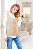 Ladies Vest top & Jacket in Stylecraft Linen Drape (9507)