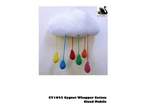 Cloud Mobile in Cygnet Yarns Whopper Cotton