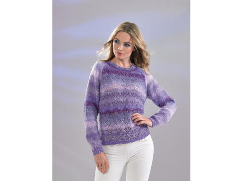 Ladies Sweater in James C. Brett Northern Lights (JB512)
