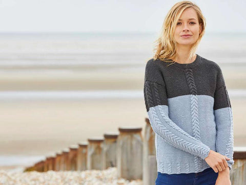 Shoreline by Charlotte Johnson in Yarn Stories Fine Merino DK