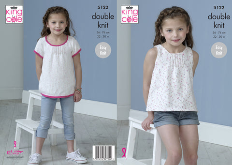 Tops in King Cole Cottonsoft Candy DK & Cottonsoft DK (5122K)