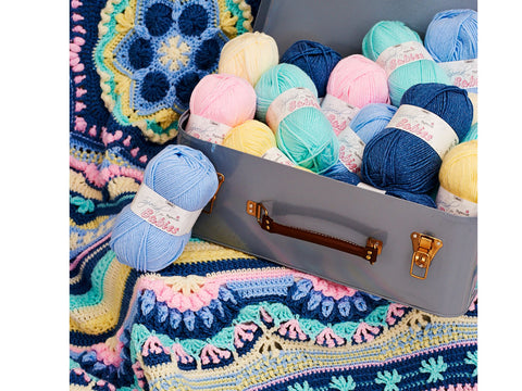 Love & Light Cosmic CAL Colour Pack in Stylecraft Special Baby Aran