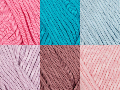 Rico Design Creative Cotton Aran Hydrangea Colour Pack