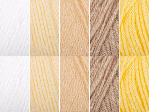 Whitesands Colour Pack in Hayfield Bonus DK