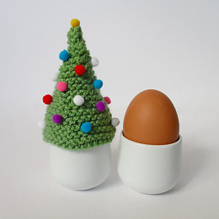 Christmas Tree Egg Cosy by Amanda Berry - Digital Version