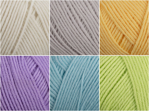 Perfect Pastels Colour Pack in Yarn Stories Fine Merino 4 Ply