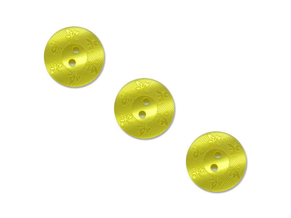 Round Leaf Detailed Buttons - Green - 228