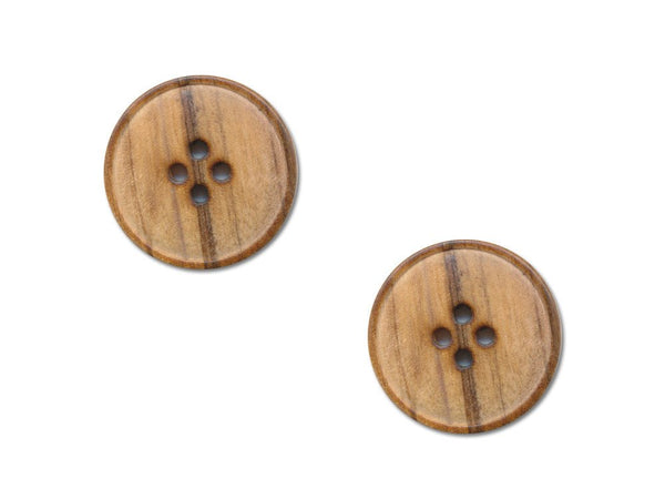 Round Wooden Buttons - 249