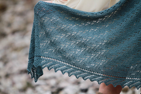 Winding Path in Fyberspates Scrumptious 4 Ply - Digital Version