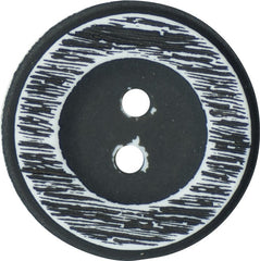 Two Hole Polyester Italian Buttons 23mm