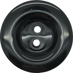 Two Hole High Shine Italian Buttons 23mm