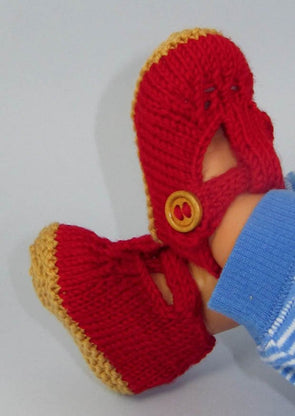 Baby Retro (Clark's) Sandals by MadMonkeyKnits (583) - Digital Version