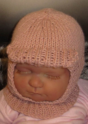 Baby Soft Peak Balaclava by MadMonkeyKnits (69) - Digital Version