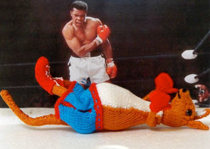 Bobby The Boxing Kangaroo by MadMonkeyKnits (2) - Digital Version