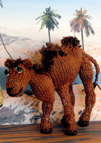 Cameron Camel by MadMonkeyKnits (01) - Digital Version