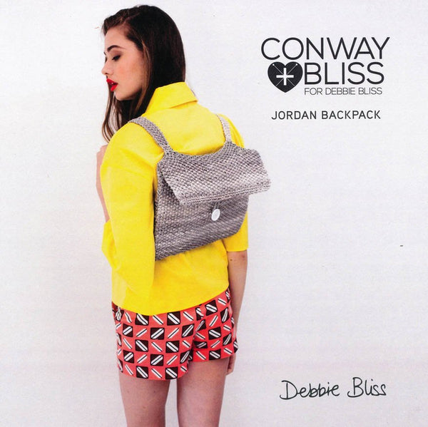 Jordan Backpack in Debbie Bliss Delphi (CB003)
