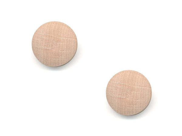 Round Wooden Buttons - 1001