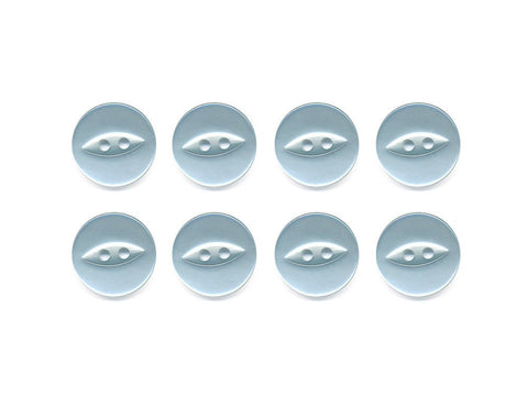 Fish-Eye Buttons - Blue - 065
