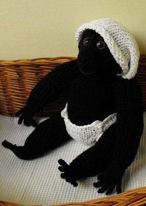 Cilla The Ugly Baby Gorilla by MadMonkeyKnits (22) - Digital Version