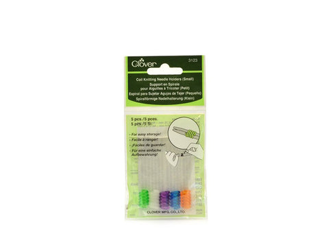 Clover Coil Knitting Needle Holders - Small