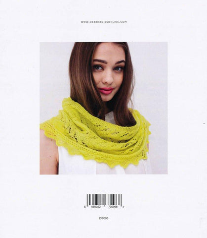 Lace Edged Cowl in Debbie Bliss Rialto Lace (DB005)