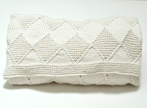 Baby 'Diamond Blanket' by Linda Whaley in Deramores Studio DK