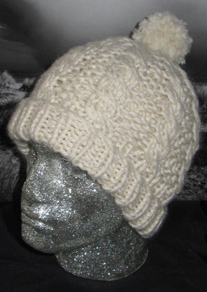 Fisherman's Friend Superfast Cable Beanie by MadMonkeyKnits (135) - Digital Version