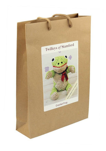 Crochet Finlay Frog Kit by Twilleys