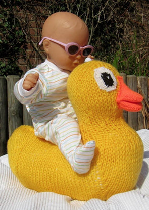 Giant Rubber Duck by MadMonkey Knits (537) - Digital Version