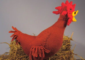 Hattie Hen Toy by MadMonkeyKnits (2) - Digital Version