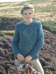 Sweater in James C. Brett Rustic Mega Chunky (JB275)