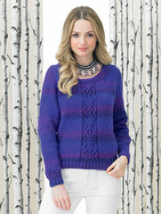 Sweater in James C. Brett Marble DK (JB293)
