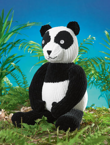 Panda in James C. Brett Flutterby Chunky