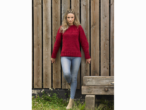 Sweater in James C. Brett in Norske Chunky (JB641) - Knitting Kit & Pattern