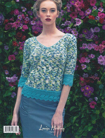 Nettle in Louisa Harding Cassia and Cassia Prints (L10-02)