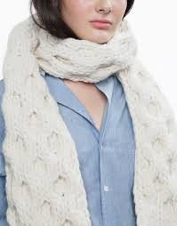 Love Buzz Scarf by Wool and the Gang