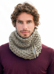 Bergere de France - Men's Snood Kit - Bistre