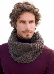 Bergere de France - Men's Snood Kit - Murier