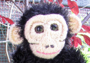 Pet Baby Chimpanzee by MadMonkeyKnits (407) - Digital Version