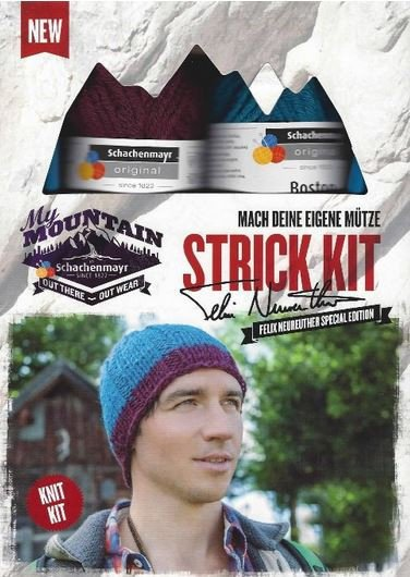 Schachenmayr My Mountain Beany Hat Knit Kit